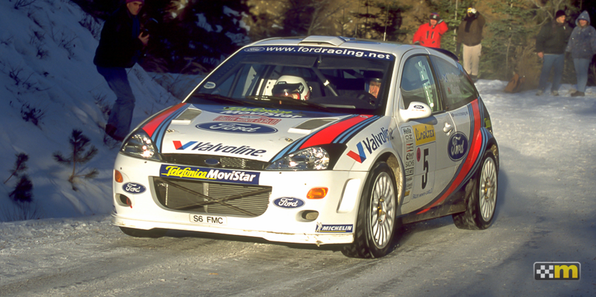 mountune Ford Focus WRC turbocharged
